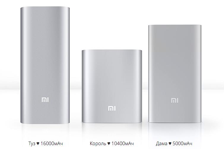 Купить повербанк Xiaomi