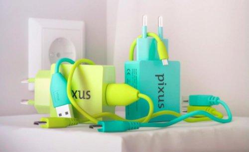 Сетевое зарядное устройство Pixus Charge One, 5V - 2A Сетевое зарядное устройство Pixus Charge One, 5V - 2A