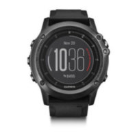 f?nix 3 Sapphire HR – Gray with black silicone band