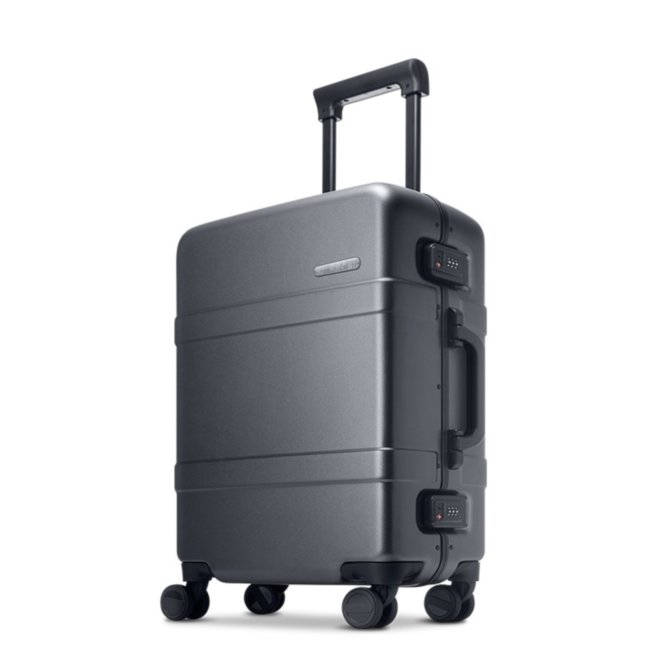 "Чемодан RunMi 90 Points Classic Aluminum Box Suitcase Dark Grey Magic Night 20"" Артикул: 772992"